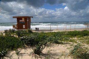 חוף פלמחים, חורף 2019