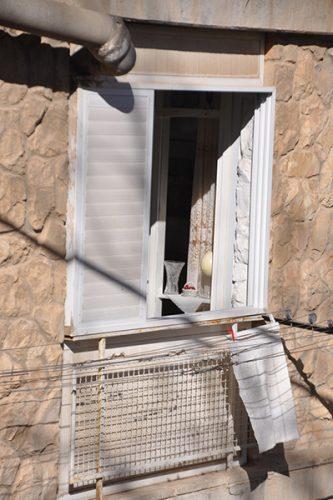 A woman's window