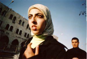 A woman, Salah- A-din st., Jerusalem