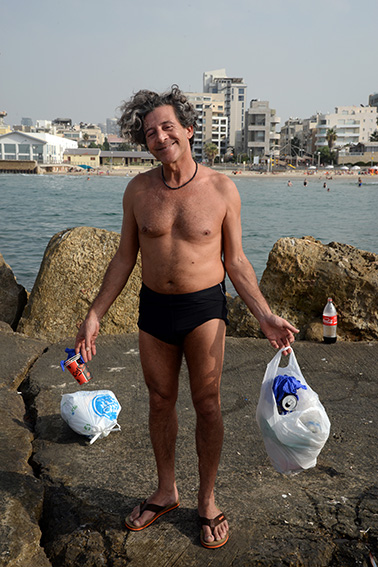 Philipe Azulay, Tel Aviv Beach, Nov. 2019