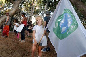 Parents for climate demonstration Tel Aviv September 2021